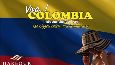 Colombia independence Vancouver