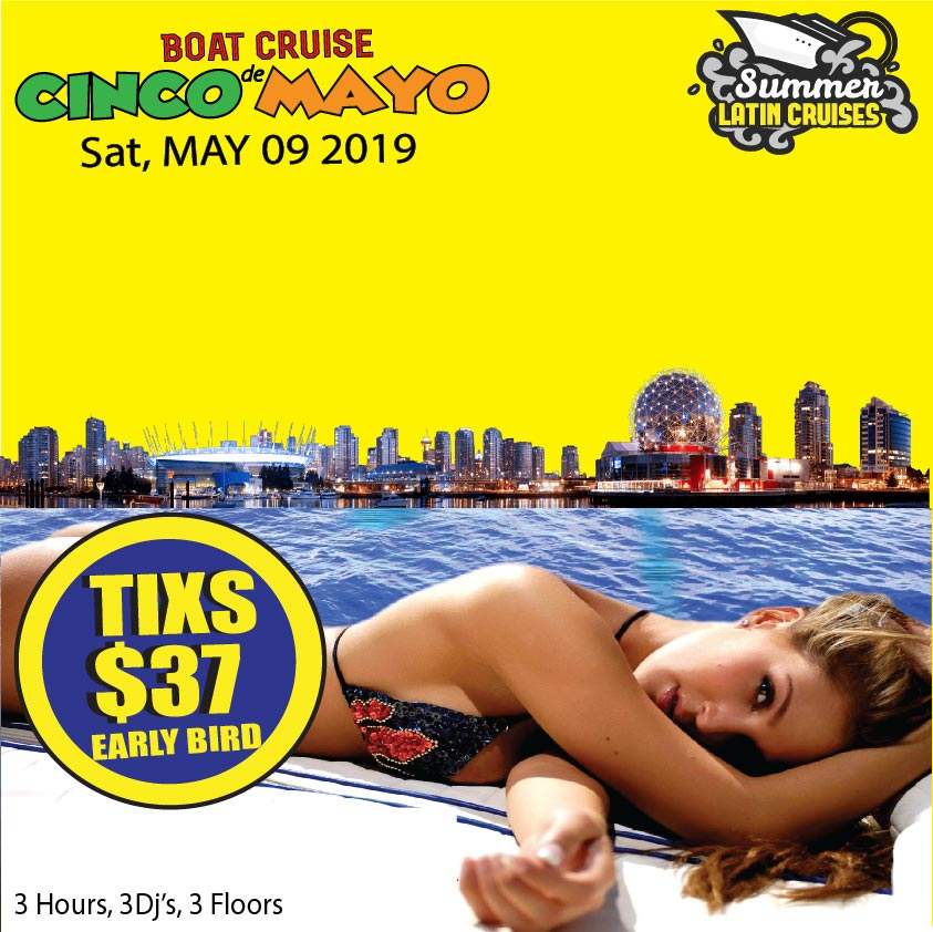 Cinco de Mayo boat cruise