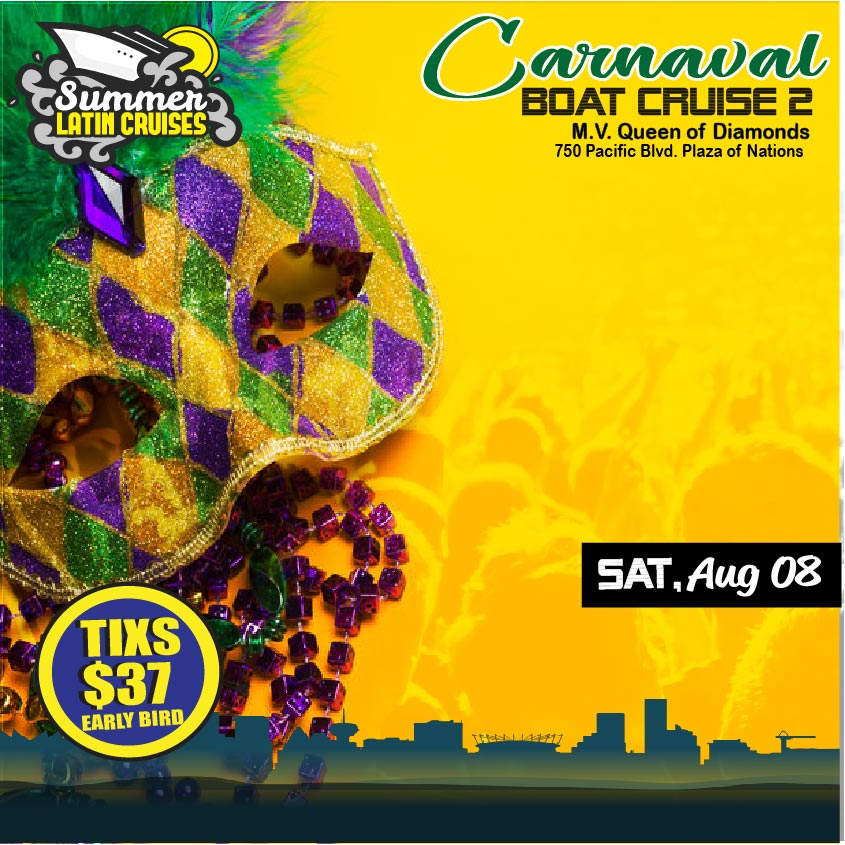 Carnaval boat cruise