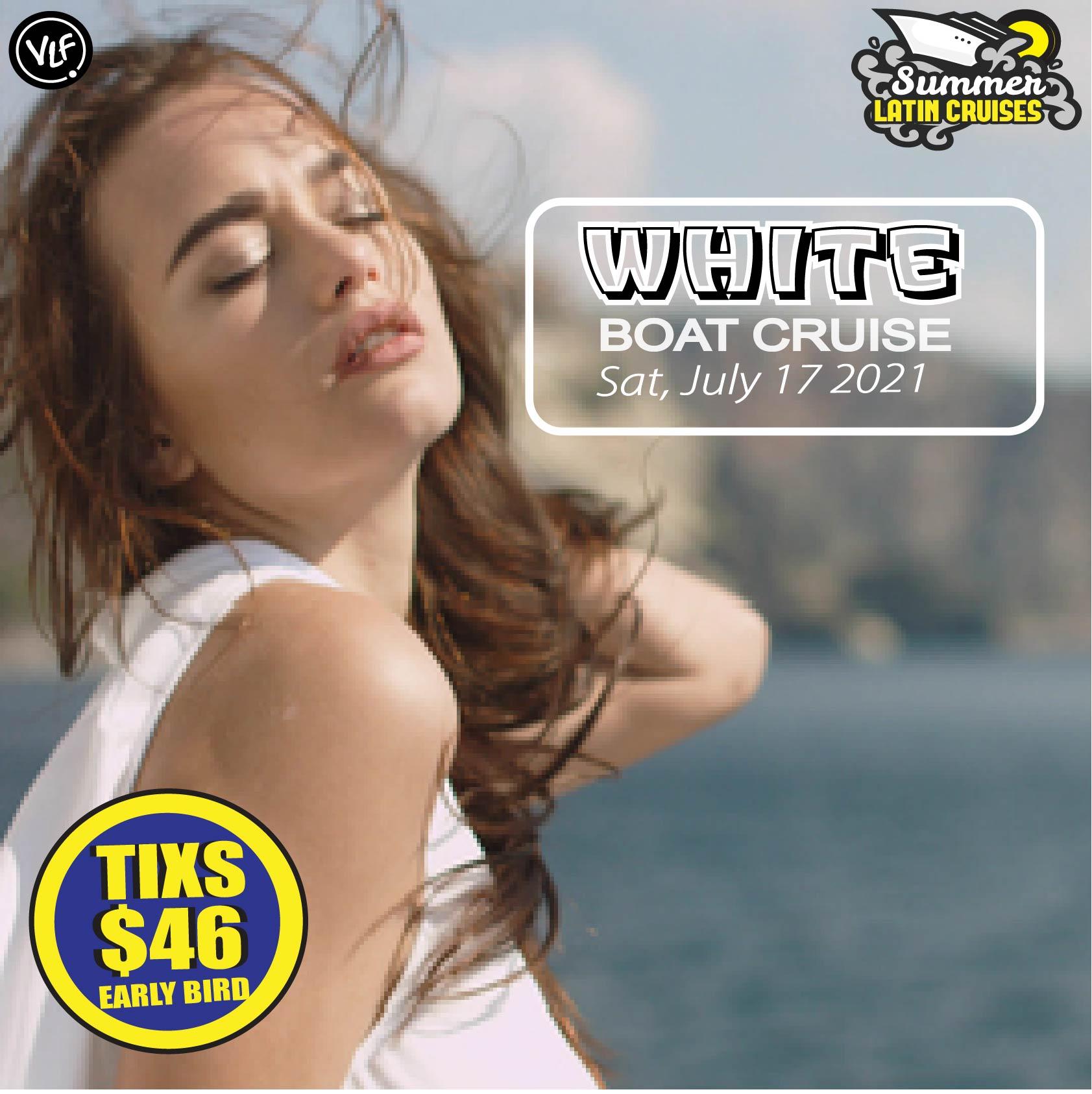 Latin Cruise white Boat